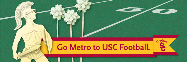 Go Metro to USC Football